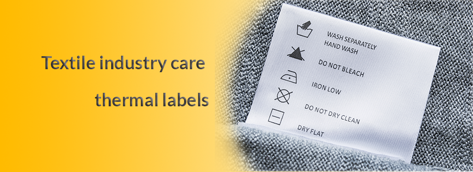 Show products in category Textile care labels