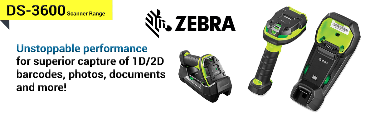 Show products in category Zebra DS-3600 Scanners