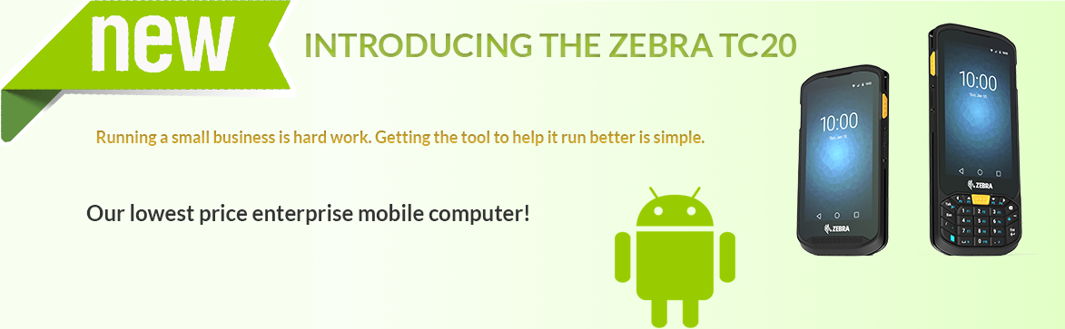 Show products in category Zebra TC20 Mobile computer