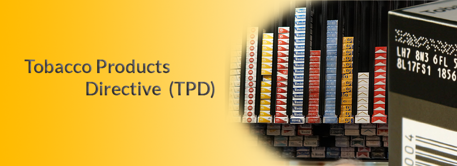 Show products in category Tobacco Products Directive