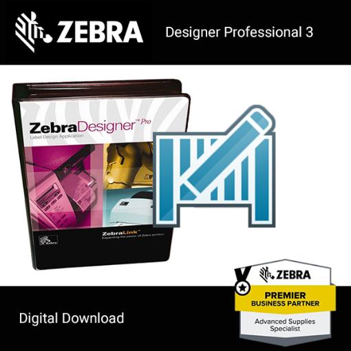 Picture of Zebra Designer v3 Label Design Software