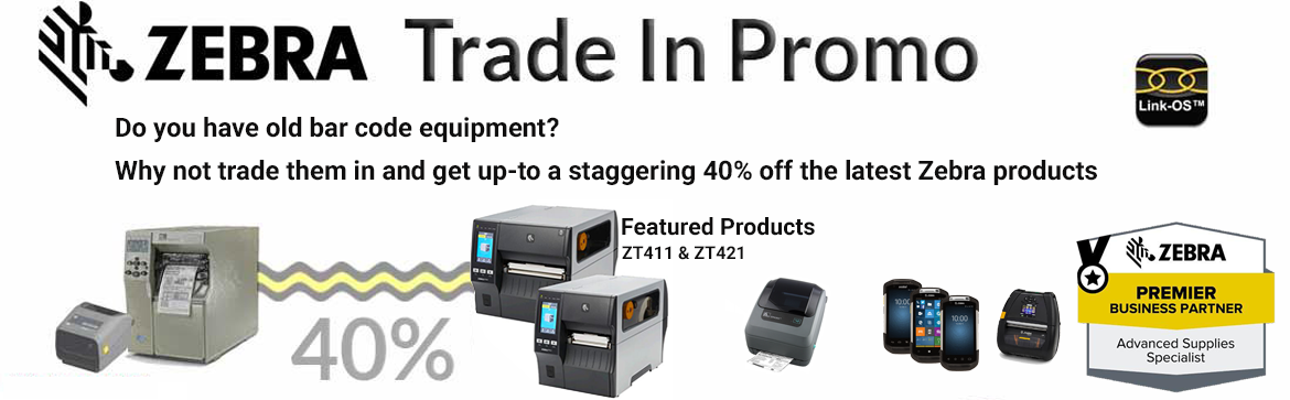 Show products in category Zebra Printer Trade-Up Programme
