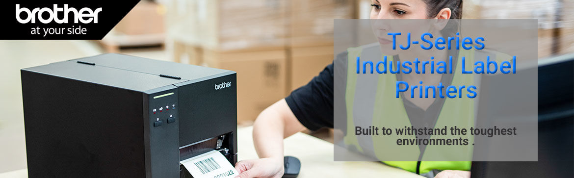 Show products in category TJ-Series Industrial label printers