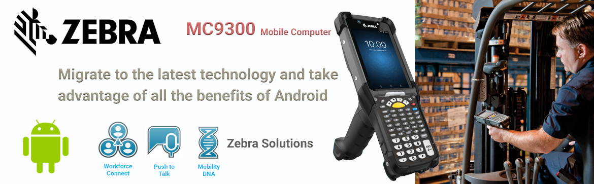 Show products in category Zebra MC 9300 Mobile Computer