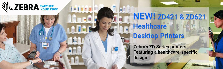 Show products in category Zebra ZD421 & ZD621 Healthcare Desktop Printers
